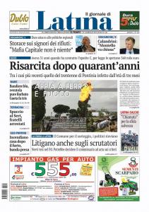 Il giornale di Latina 12-05-2016 - Avvocato Mattarelli